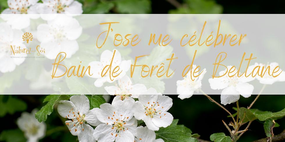 J'ose me célébrer - Bain de Forêt de Beltane