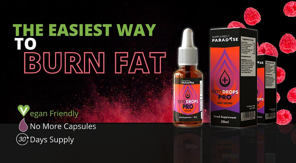 KETO DROPS PRO DROPS Extreme Fat burner. Ketogenic Weight Loss Support. Dragon's Den Diet Pills