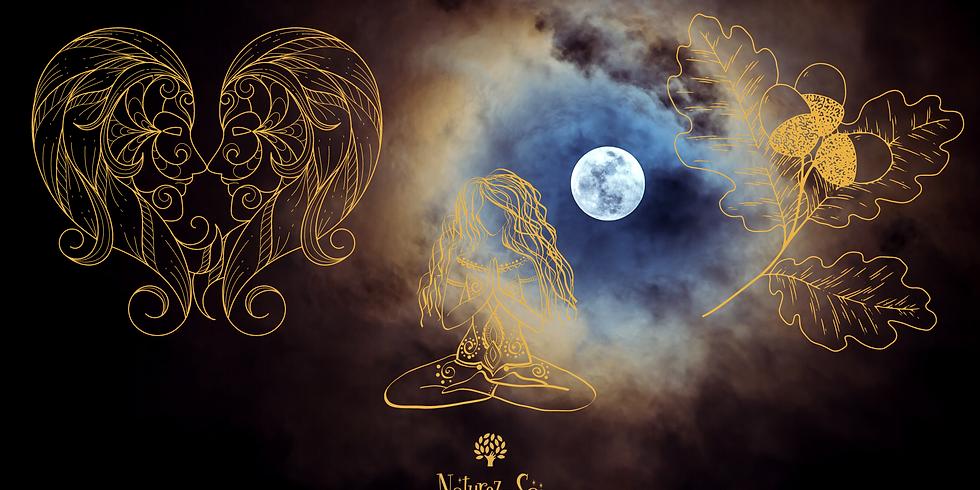 Soin énergétique collectif à distance pour la pleine lune