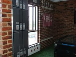 Locker room view 2