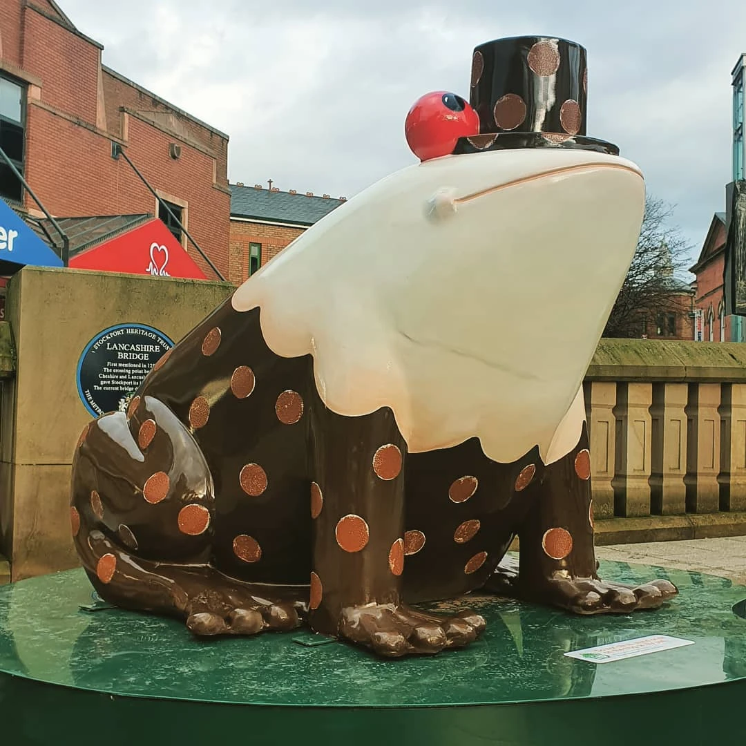 Christmas Pudding Frog