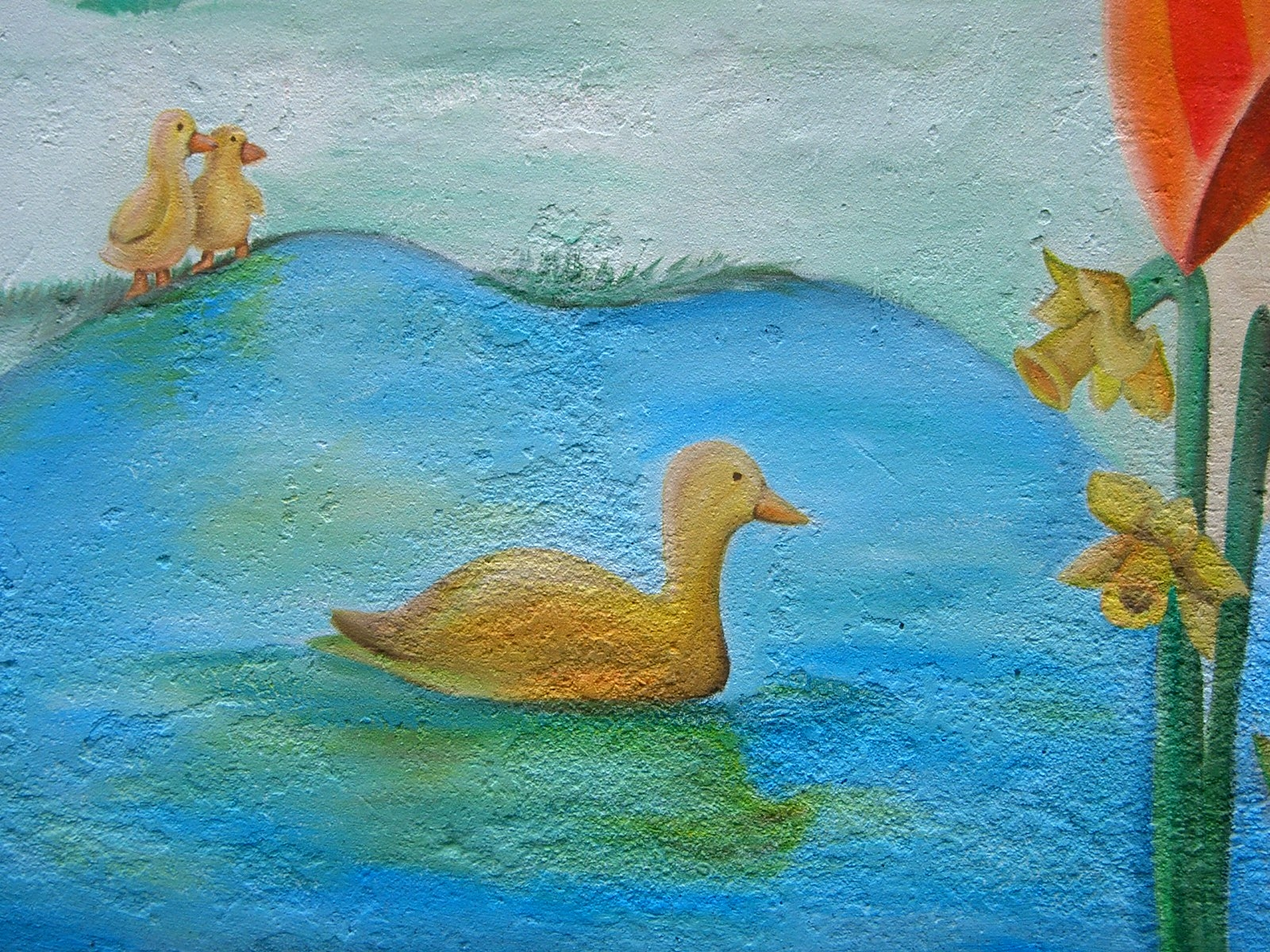 H Hill ducks