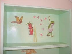 Shelf frog