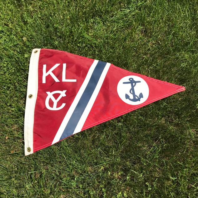 Large KLYC Burgee $75