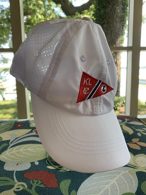 White KLYC Baseball Cap