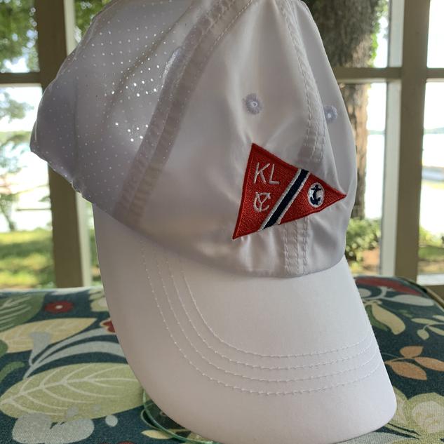 White KLYC Cap $20