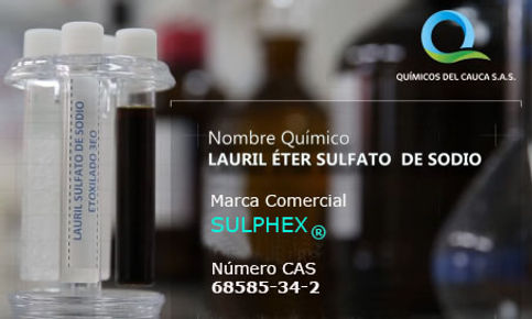 Lauril Éter Sulfato de Sodio