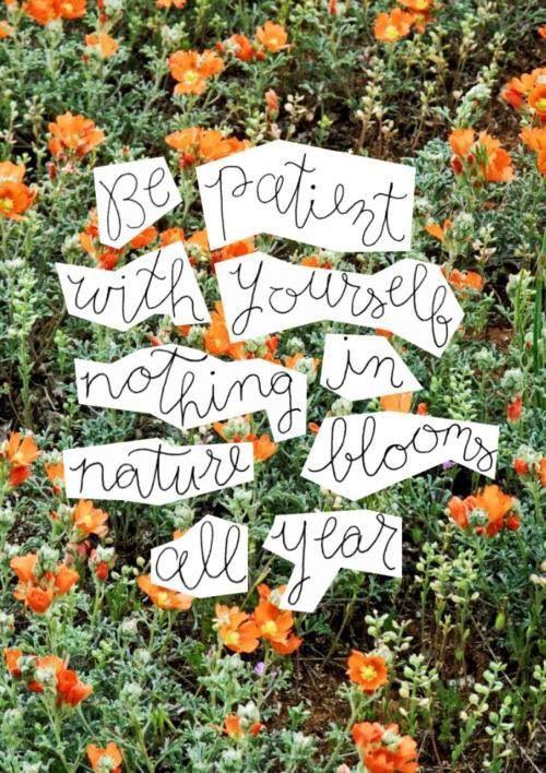 Speak to Me: Be Patient