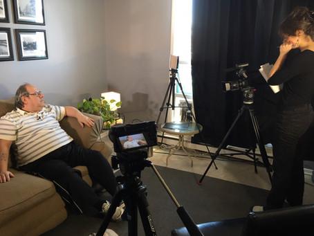 Robert begins work on his personal video