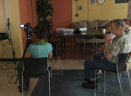 Filming Maurice's story
