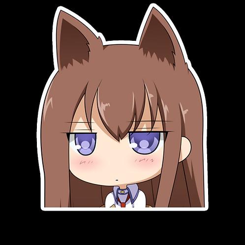 Anime Peeking Sticker Car Window TRUCK Decal PKN69 Taiga Aisaka toradora
