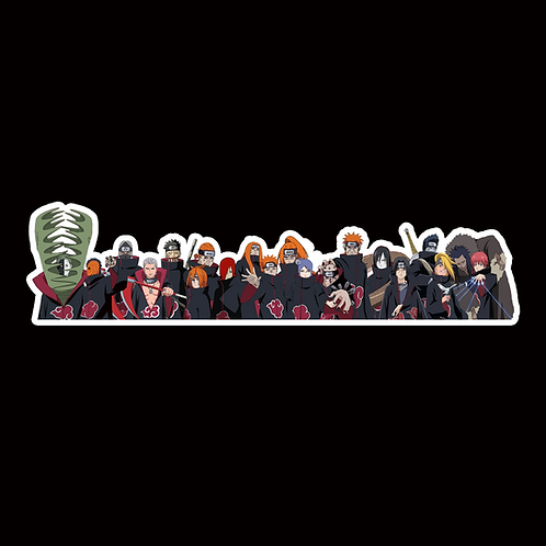 NOR263 akatsuki Naruto Peeking anime sticker Car Decal Vinyl Window