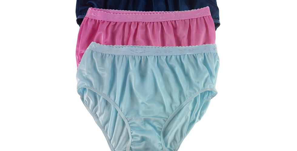 CKTK08 Lots 3 pcs Wholesale New Nylon Panties Women Undies Briefs