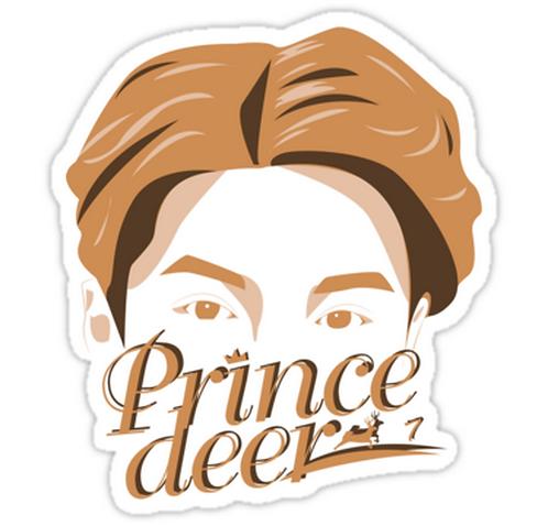 EXO Luhan 'Sketch' SSTK087 K-Pop Music Brand Car Window Decal Sticker