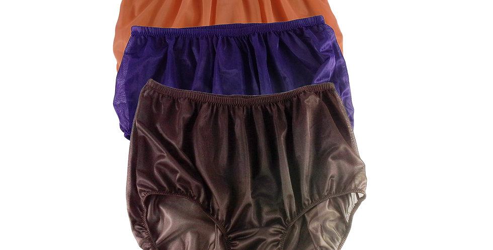 A39 Lots 3 pcs Wholesale Women New Panties Granny Briefs Nylon Knickers