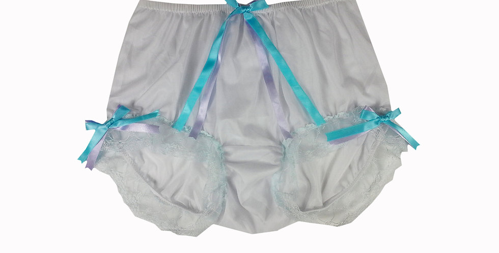 NNH11D95 Handmade Panties Lace Women Men Briefs Nylon Knickers