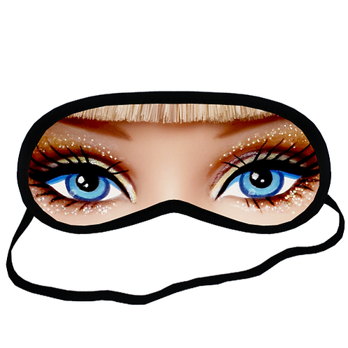 EYM210 Barbie eyes Eye Printed Sleeping Mask