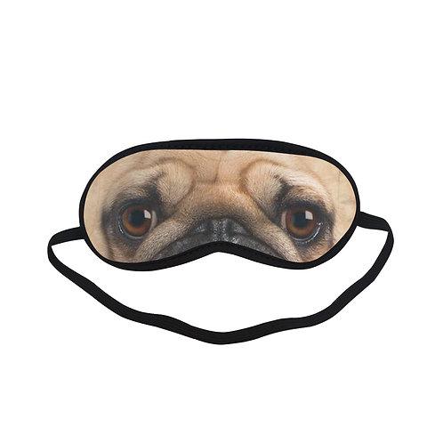 ATEM358 pug face Eye Printed Sleeping Mask