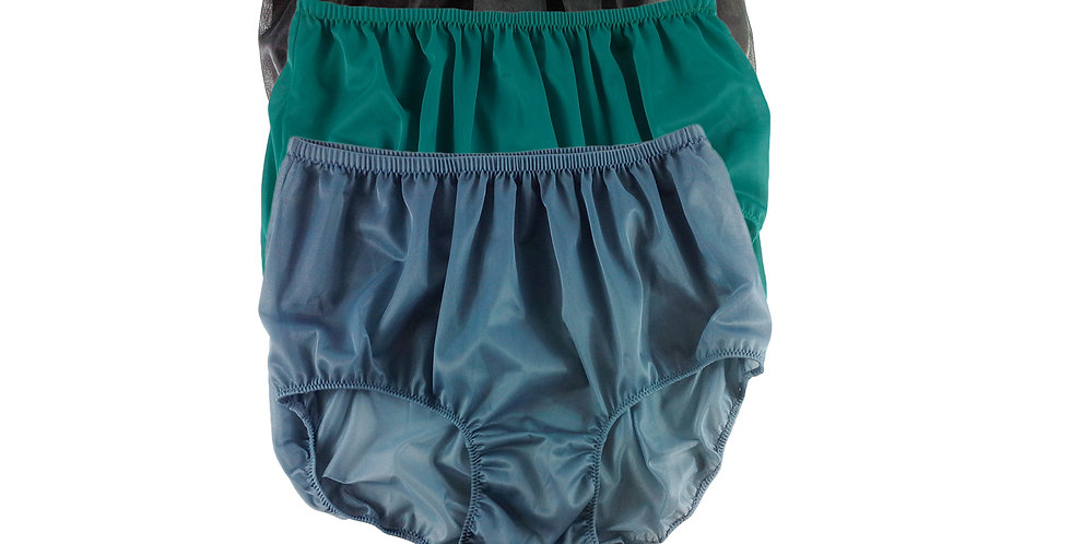A56 Lots 3 pcs Wholesale Women New Panties Granny Briefs Nylon Knickers