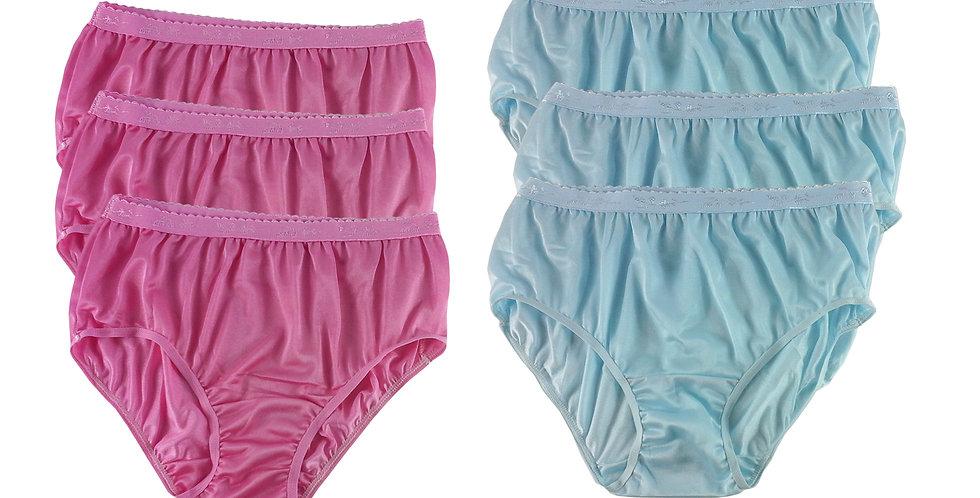 CKSL13 Lots 6 pcs Wholesale New Nylon Panties Women Undies Briefs