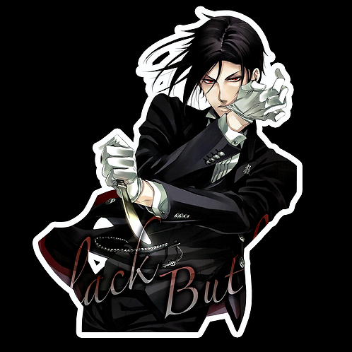 Anime Stickers Die-cut Car motorcycle laptops phone Truck wall BB7 Black Butler