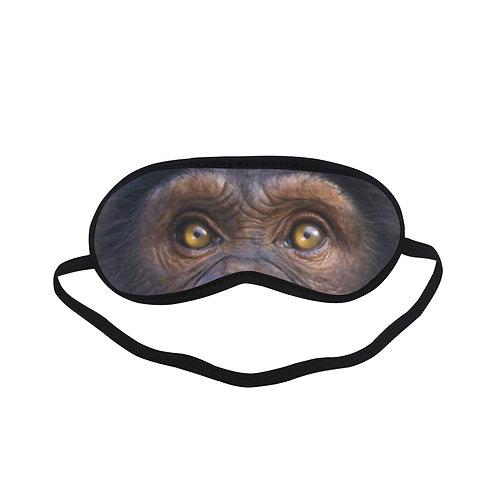 BTEM236 Happy Chimp Eye Printed Sleeping Mask