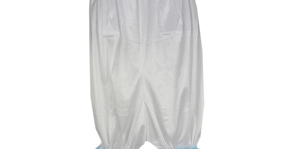 PTPH04D10 white New Nylon Pettipants Women Men Slips Lace Lingerie