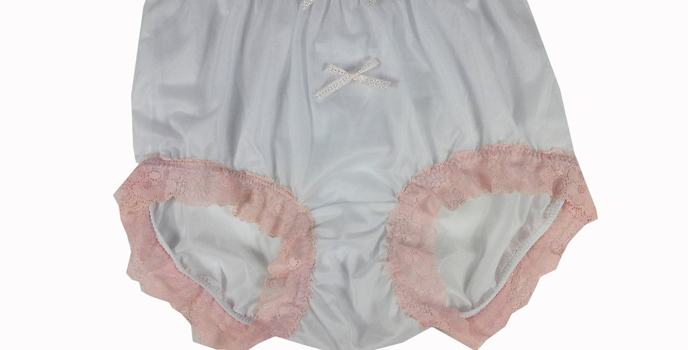 NNH10D25 Handmade Panties Lace Women Men Briefs Nylon Knickers