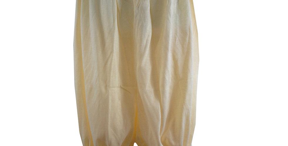PCPH01 yellow Cotton Pettipants Women Slips Lace Lingerie Underwear