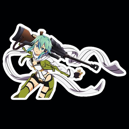 Anime Sticker Car Bumper Truck Window Helmet Decal SSAO97 Sword Art Online
