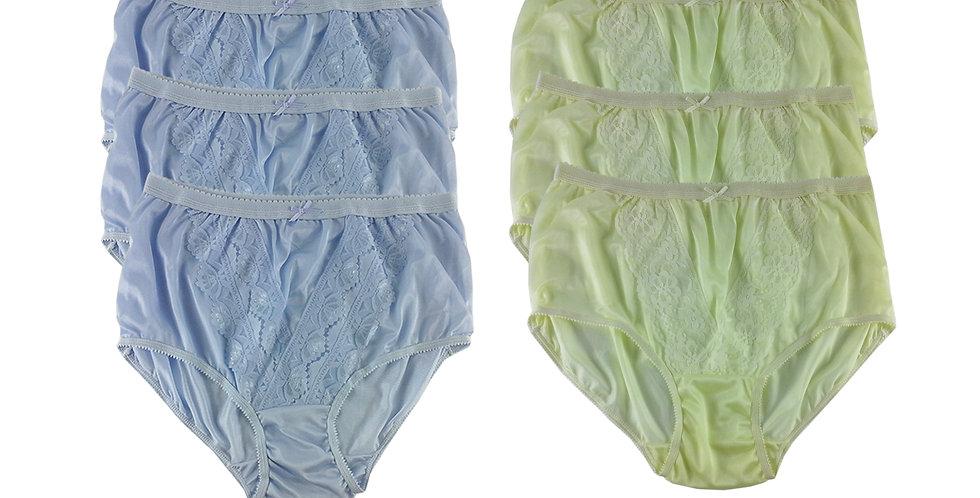 NLSG05 Lots 6 pcs Wholesale New Panties Granny Briefs Nylon Men Women
