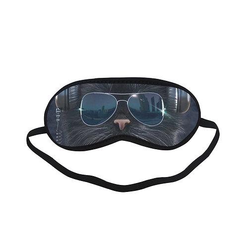 ATEM156 cool cat Eye Printed Sleeping Mask