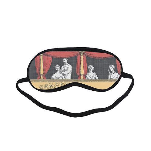 PTEM439 Theater Graphic pattern design Eye Printed Sleeping Mas