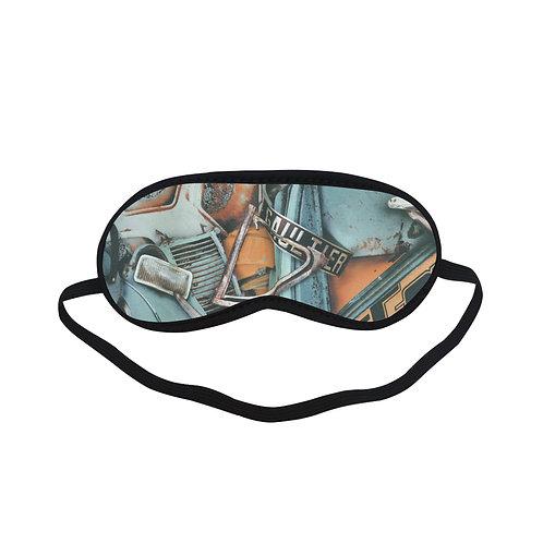 PTEM541 Old Car Graffiti Eye Printed Sleeping Mas
