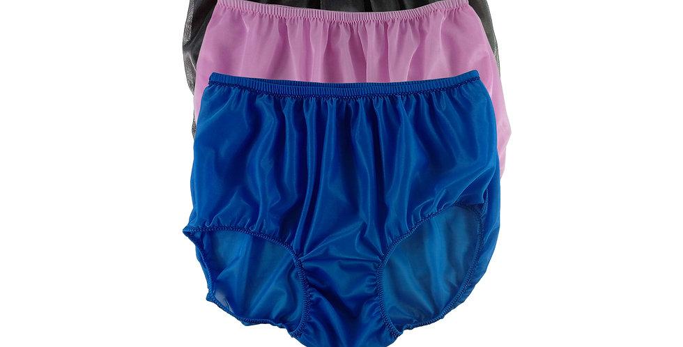 A114 Lots 3 pcs Wholesale Women New Panties Granny Briefs Nylon Knickers