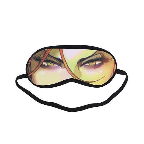 JTEM397 POISON IVY Eye Printed Sleeping Mask