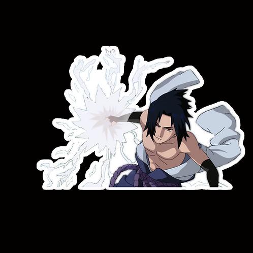 NOR416 Sasuke uchiha Naruto Peeking anime sticker Car Decal Vinyl Window