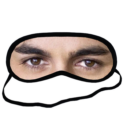 EYM1305 Enrique Iglesias Eye Printed Sleeping Mask