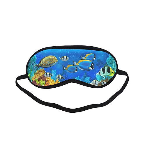 PTEM321 Fish Underworld Eye Printed Sleeping Mas