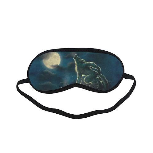 ATEM415 three werewolf moon Eye Printed Sleeping Mask