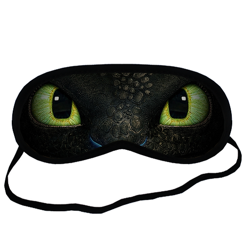EYM626 Your Dragon Eye Printed Sleeping Mask