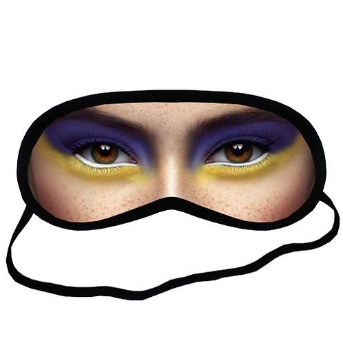 EYM1787 ART MAKEUP Eye Printed Sleeping Mask