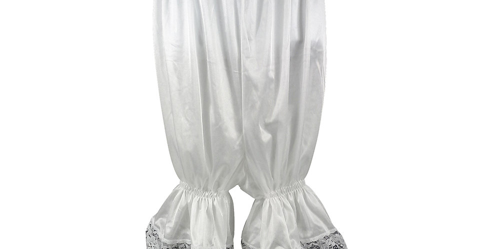 PTPH02D16 white New Nylon Pettipants Women Men Slips Lace Lingerie