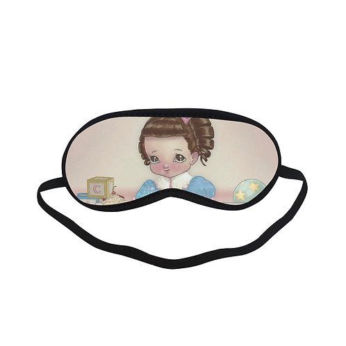 PTEM227 Vintage Doll Cartoon Design Eye Printed Sleeping Mask
