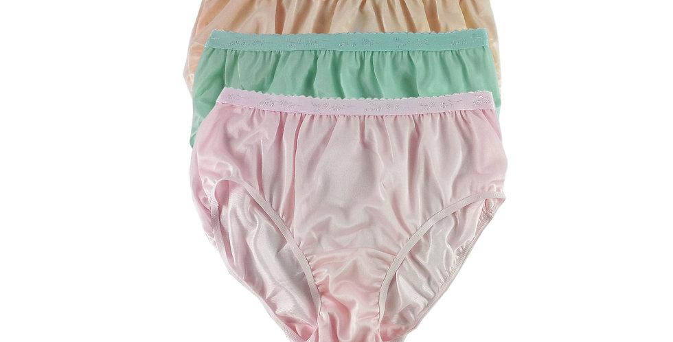 CKTK13 Lots 3 pcs Wholesale New Nylon Panties Women Undies Briefs