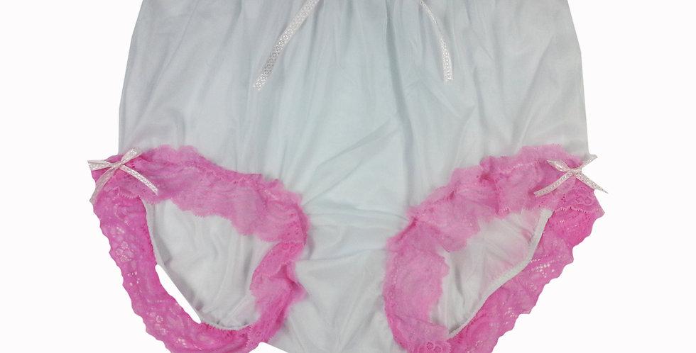 NNH11D24 Handmade Panties Lace Women Men Briefs Nylon Knickers