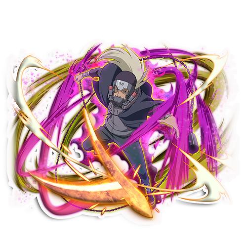 NRT89 Hanzo of the Salamander venom Naruto anime sti