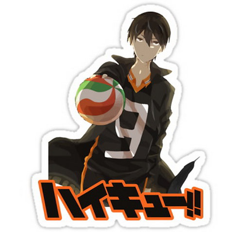 SRBB0705 Kageyama Tobio Haikyuu!! anime sticker