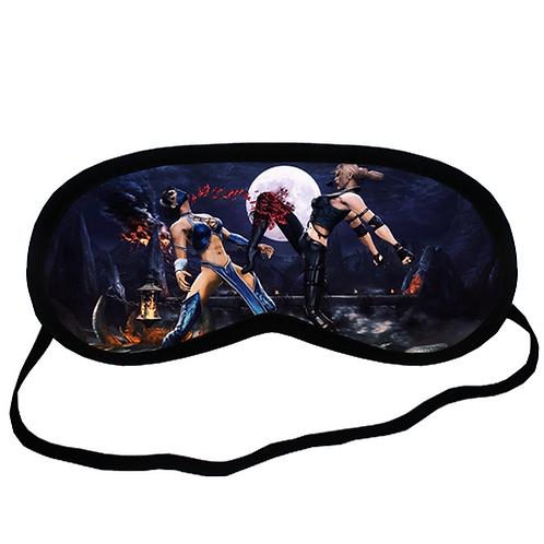 EYM1947 Scorpion mortal kombat Eye Printed Sleeping Mask
