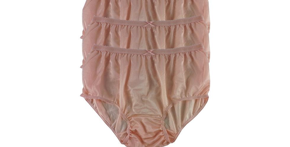 NYT orange Lots 3 pcs New Panties Wholesale Briefs Silky Nylon Men Women